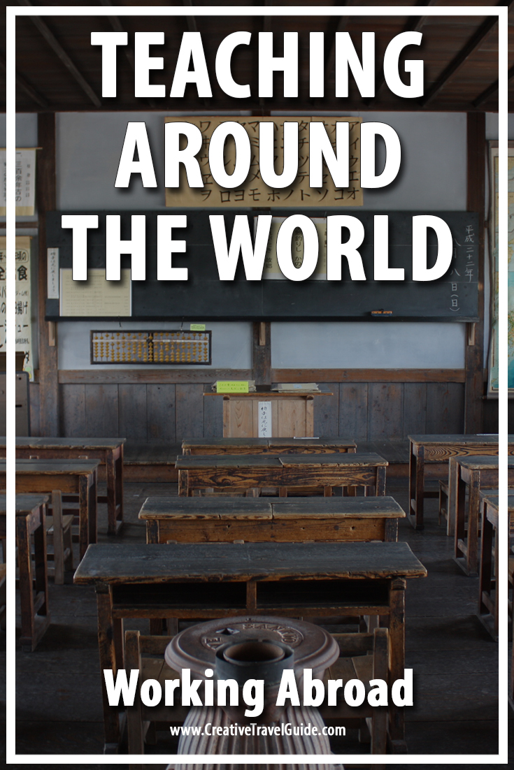 Working Abroad - Teaching Around the World - Pin This!