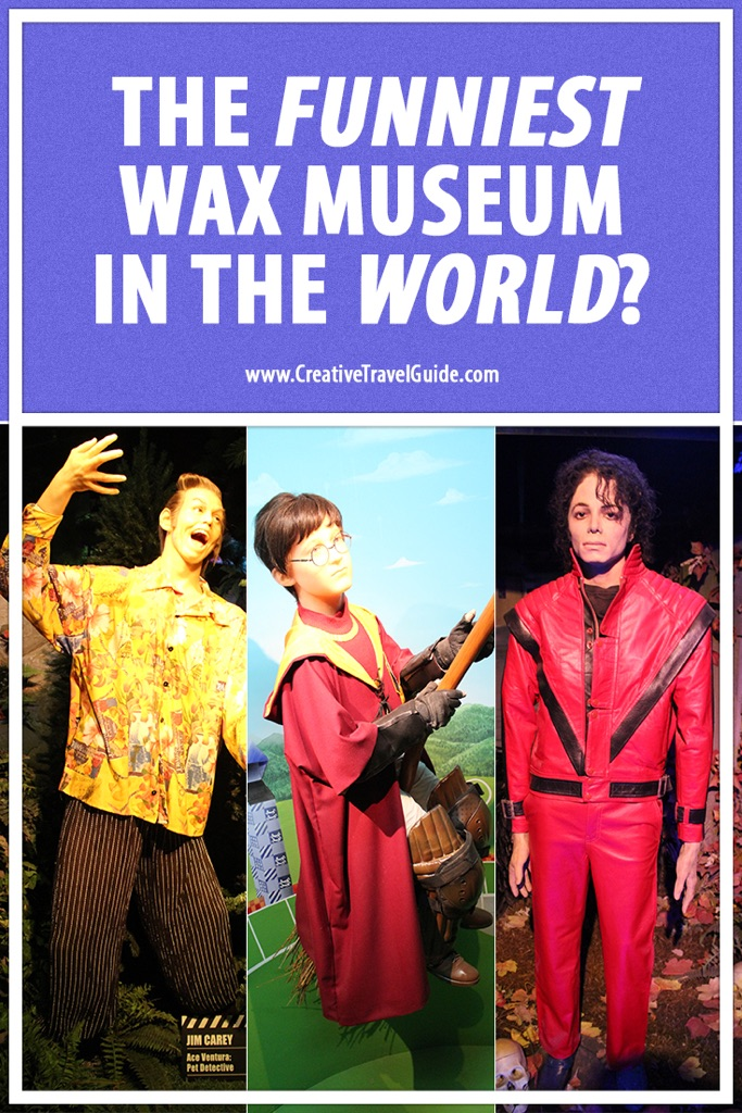 Pin this - The Funniest Wax Museum in the world? Niagara Falls, Canada