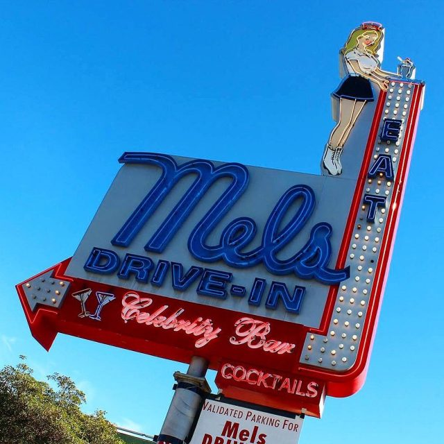Throwback to the cutest and famous diner in hollywood losangeleshellip