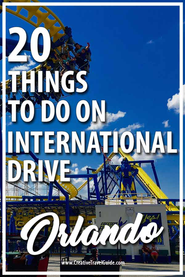 Things to do on International Drive