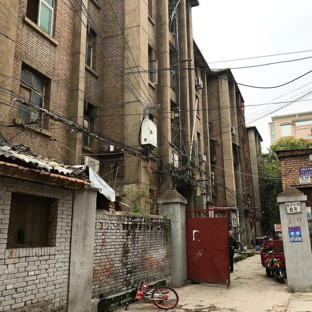 Exploring the alleyways of xian china
