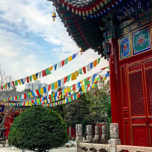 Exploring the Guangren Temple in xian china asia buddisttemple