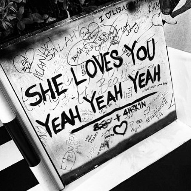 She loves you YEAH YEAH YEAH! thebeatlesstory liverpool beatles albertdockhellip