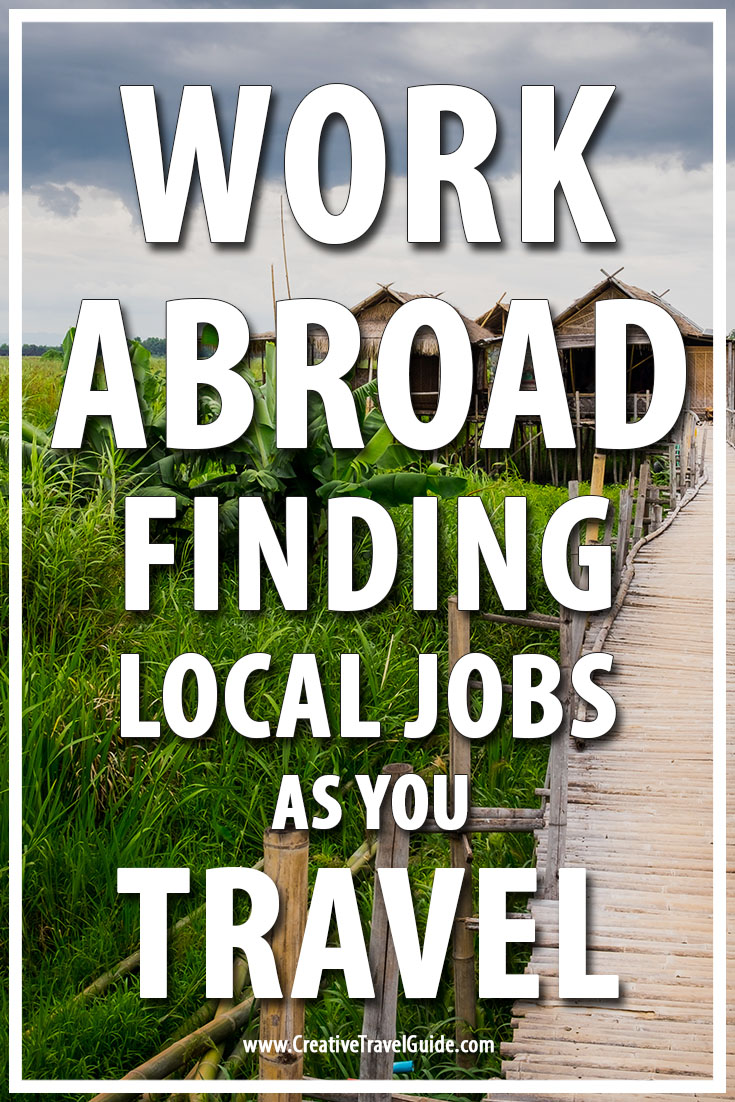 local jobs as you travel