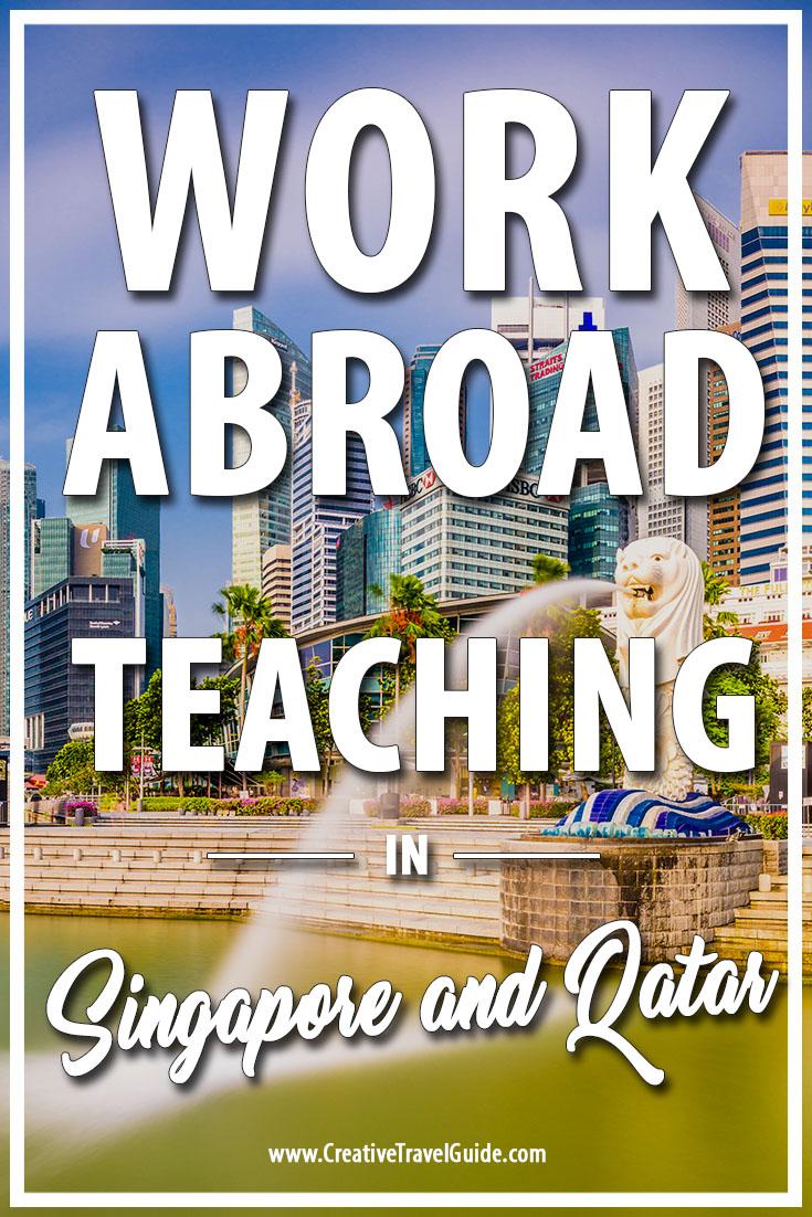 teaching in singapore and qatar