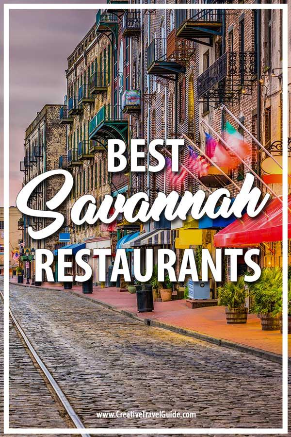 Savannah restaurants