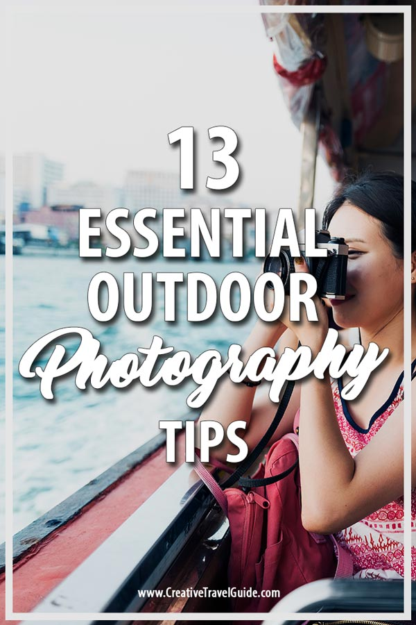 Outdoor Photography Tips