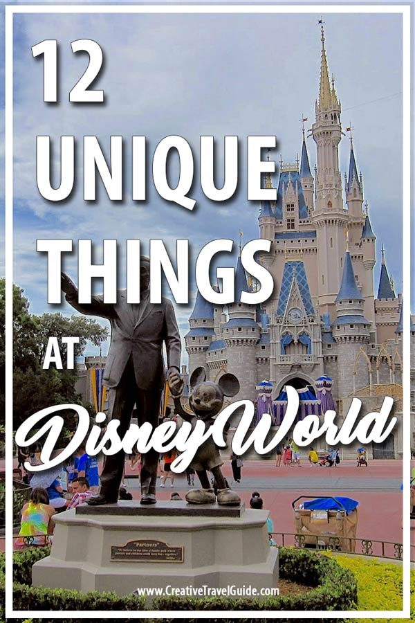 Unique things to do at Disney World