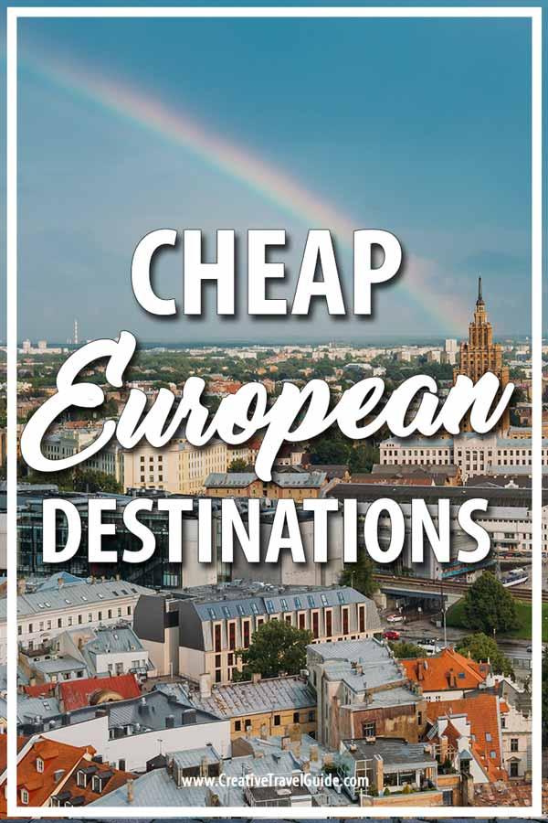 cheap European vacations