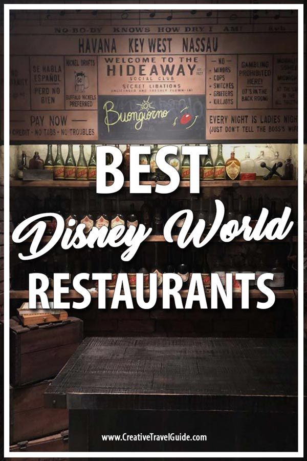 Best Disney Restaurants