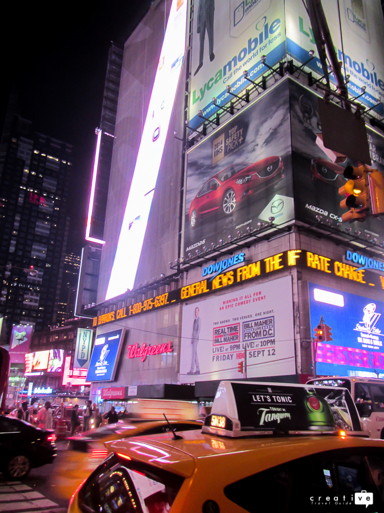 What To Do & Where To Eat In Magical Times Square